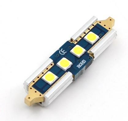 Led Auto CANBUS Sofit 36mm 4 SMD 3030 9-30V - fara polaritate [1]