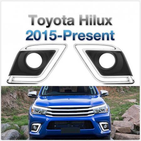 Lumini de zi dedicate Toyota Hilux Revo 2015, 2016, 2017, 2018, 2019 TYL809 [0]