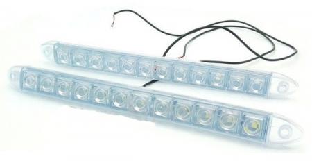 Lumini de zi DRL Flexibile 12 led*0,5W [1]
