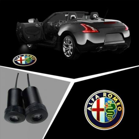 Proiectoare Portiere cu Logo Alfa Romeo [0]