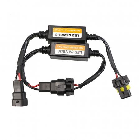 Set 2 anulatoare eroare becuri LED HB3 (9005), HB4 (9006) [0]