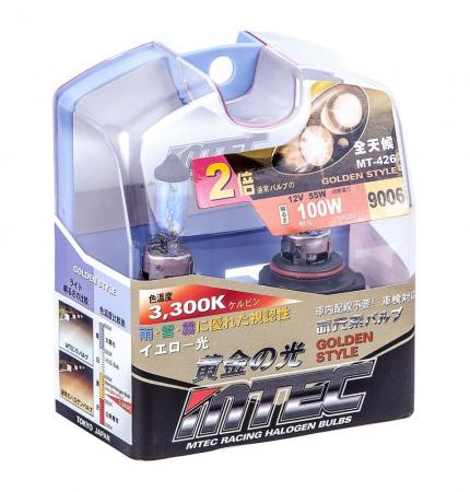 SET 2 BECURI AUTO HB4 (9006) MTEC GOLDEN STYLE [0]