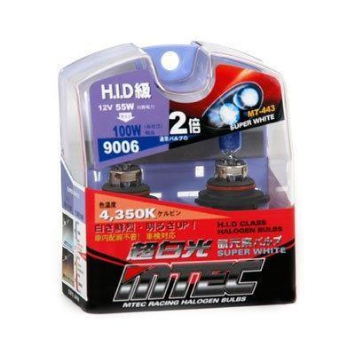SET 2 BECURI AUTO HB4 (9006) MTEC SUPER WHITE - XENON EFFECT [1]
