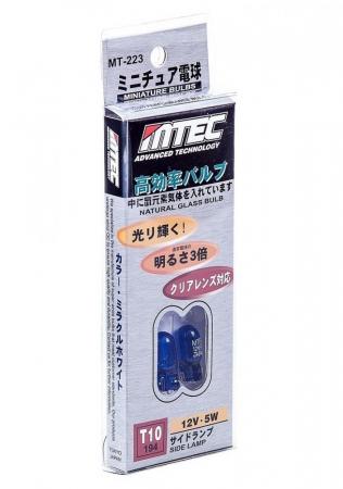 SET 2 BECURI MTEC W5W (T10) - XENON EFFECT [0]