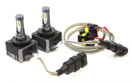 Set 2 leduri D1S, D1R pentru far auto 72W Chip Cree 8000 Lm 12V [1]