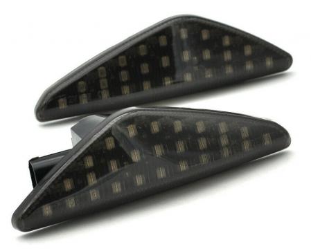 Set 2 Semnalizari Aripa LED pentru X3 F25, X5 E70, X6 E71 - BTLL-241 [0]
