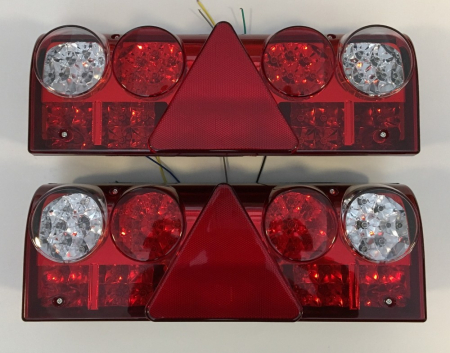 Set 2 Stopuri LED camion 24V cu 5 functii JSM-4 [0]