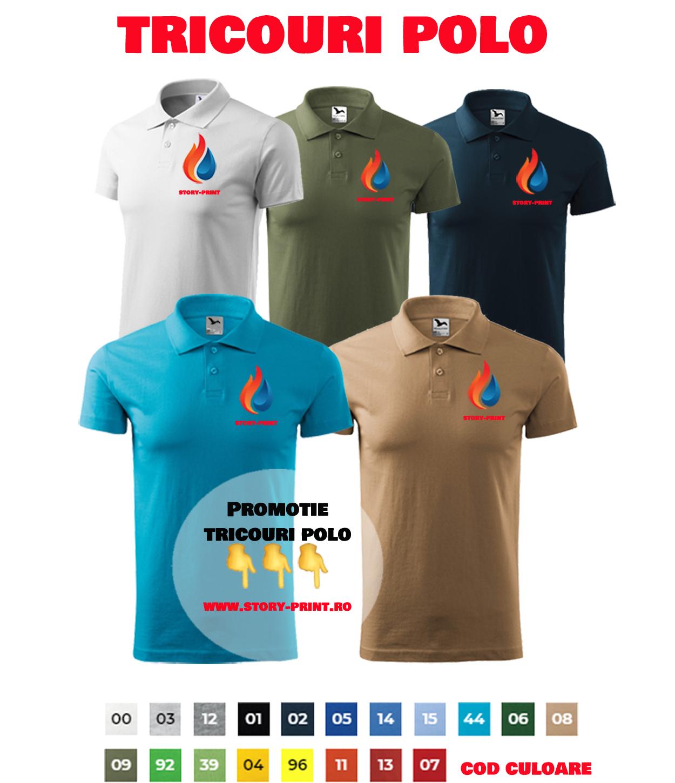 Promotie tricouri polo