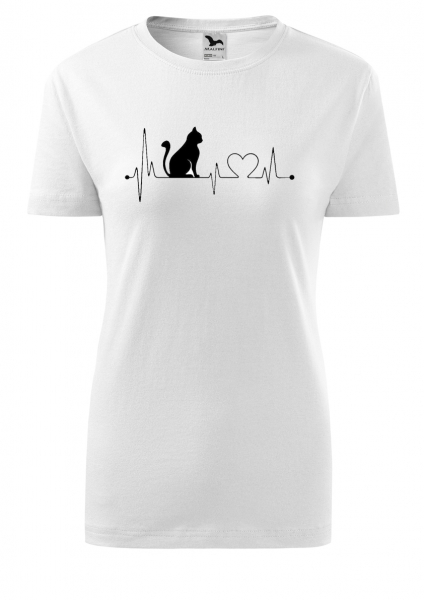 Tricou dama print Iubire de Pisica [0]