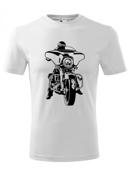 Tricou barbat print Hobby Moto 0