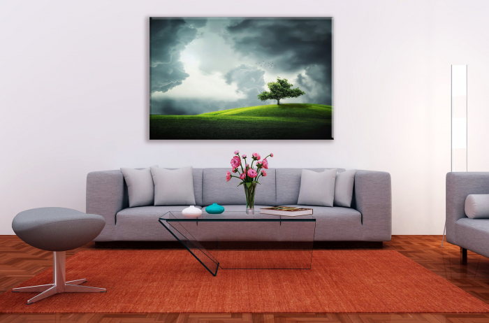 Tablou Canvas Print Copacul Singuratic [0]