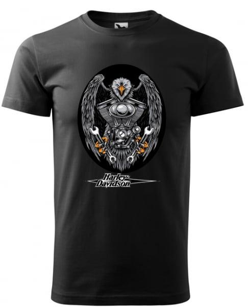 Tricou barbat, print Moto 0