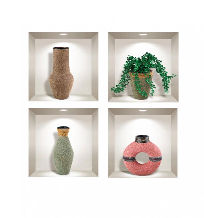 Sticker Decorativ 3D Plante si Obiecte [1]