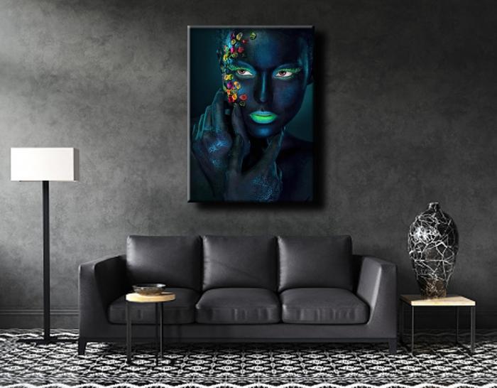 Tablou Canvas Print Black and Color [0]