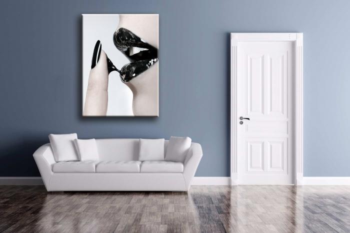 """Tablou Canvas Print """"Buze Senzuale"""" [0]"""