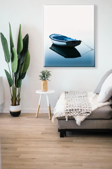 Tablou Print Barca pe Lac [0]