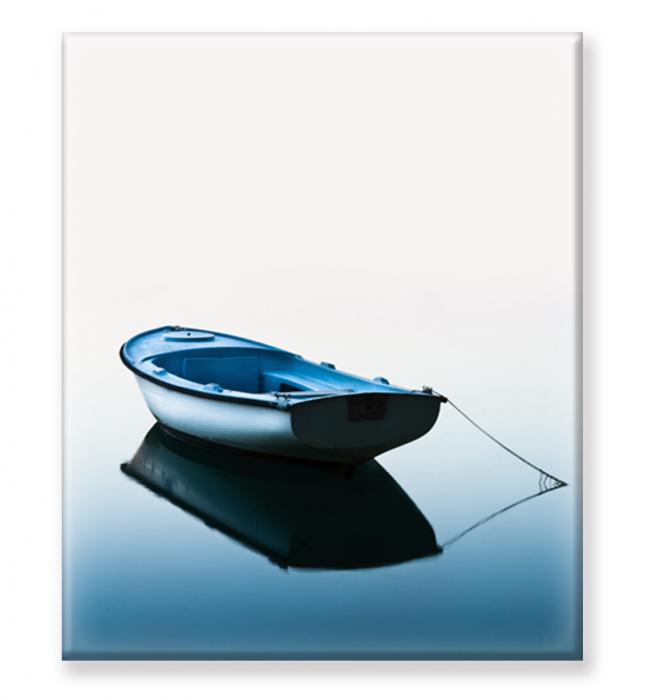 Tablou Print Barca pe Lac [1]
