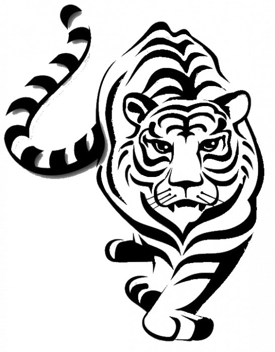 Hanorac Print Tigru [1]