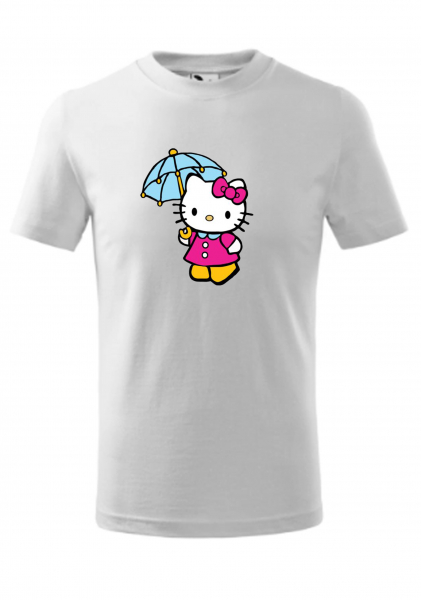 Tricou copii, print hello kitty Bumbac 100% [0]