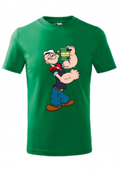 Tricou copii, print Popeye Marinarul [0]