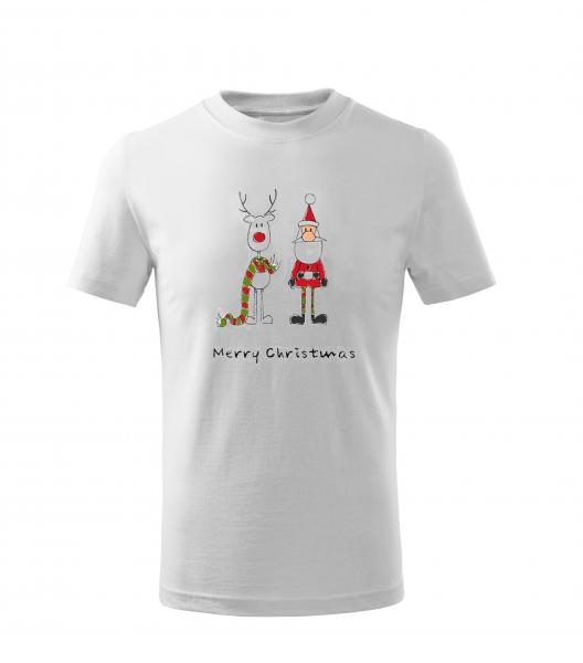 Tricou copii, print Mesaj de Craciun 0