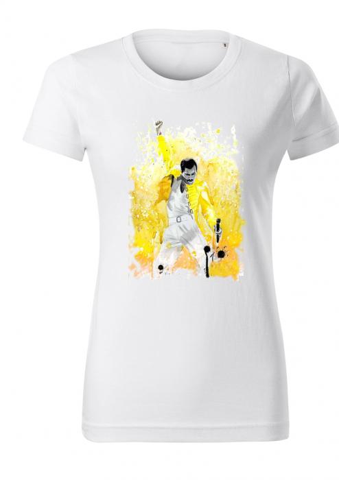 Tricou dama print Freddie Mercury [0]