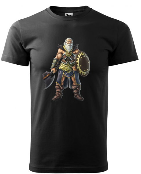 Tricou barbati, print Viking 0