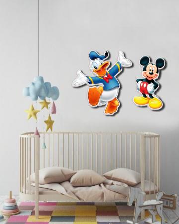 Sticker Decorativ Donald Duck&Mickey Mouse [1]