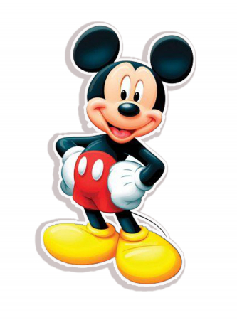 Sticker Decorativ Donald Duck&Mickey Mouse [2]