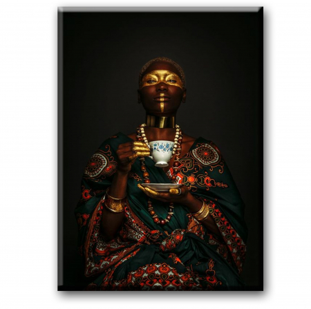 Tablou Canvas Print Femeia cu Cana [1]