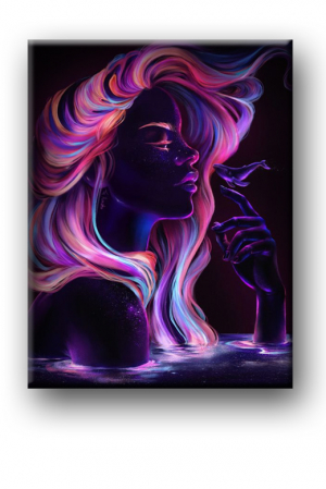 Tablou Canvas Print Invert Color [1]