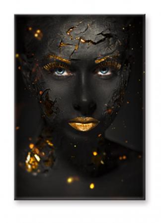 Tablou Portret Femeie Machiaj Filmic [1]