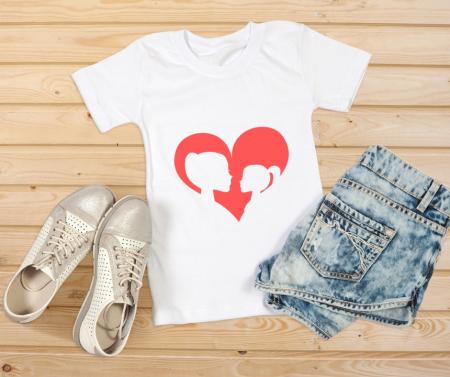 Tricou Inima Mama Fiica [2]