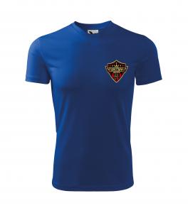 Tricou sport copii (Poliester 100%) Albastru2