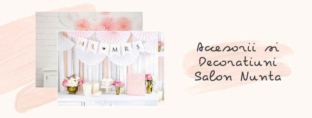 Banner Decoratiuni Salon Nunta