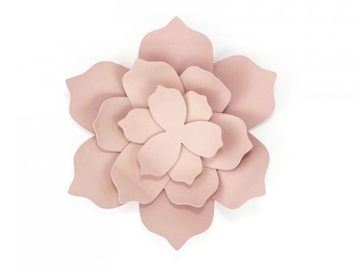 Nufar hartie roz pudra, 18 piese 4