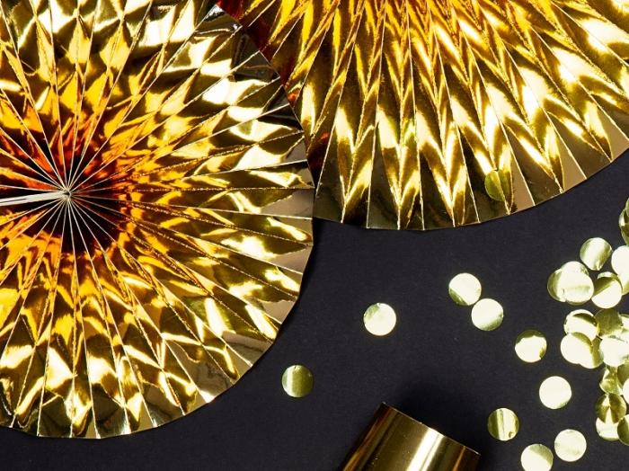 Rozete decorative aurii (1 pach / 3 pc.) 5