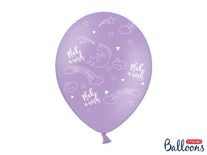 Baloane Unicorn 30cm, mix 6 buc. 1