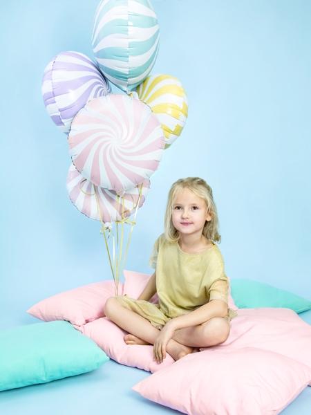 Balon folie Candy, 45cm, galben 6