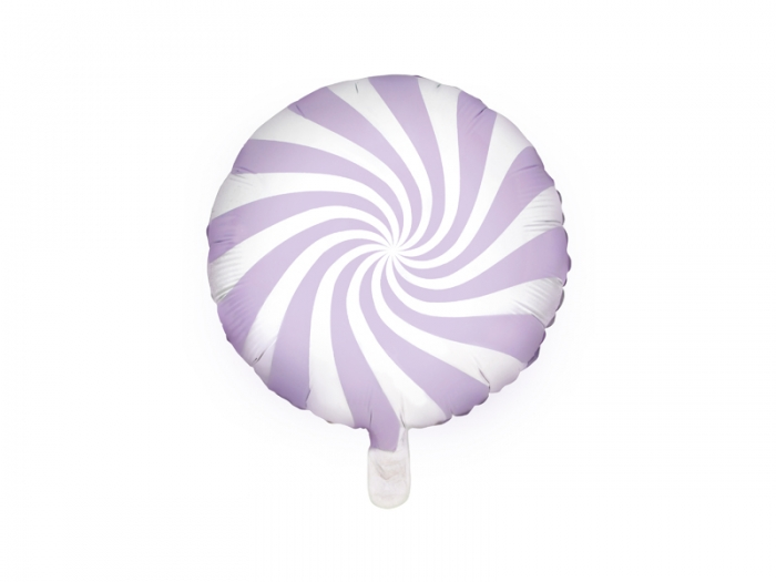 Balon folie Candy, 45cm, lila deschis 1
