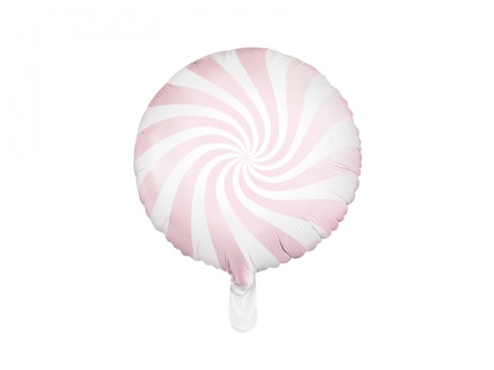 Balon folie Candy, 45cm, roz deschis 1