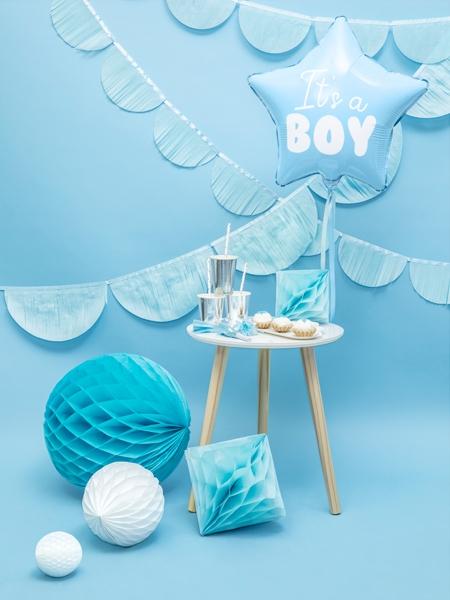 Balon folie Star - It's a boy, 48cm, bleu 1