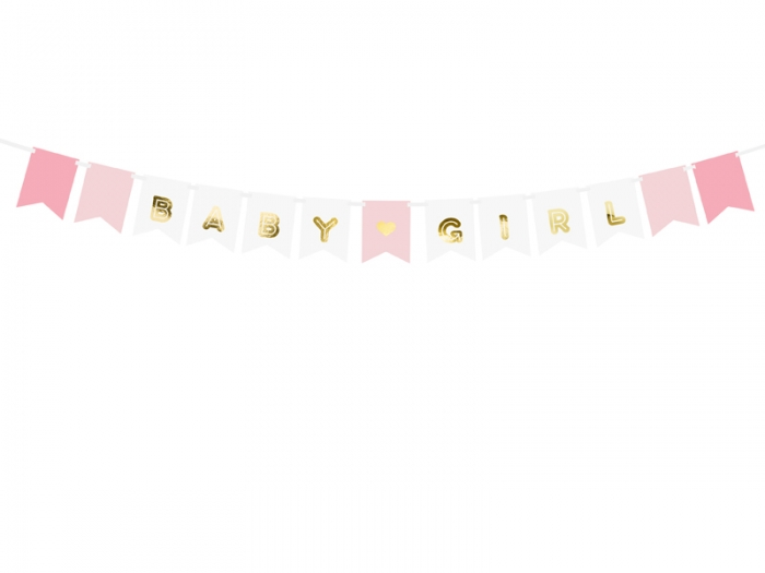 Banner Baby Girl, mix, 15 x 175 cm 4
