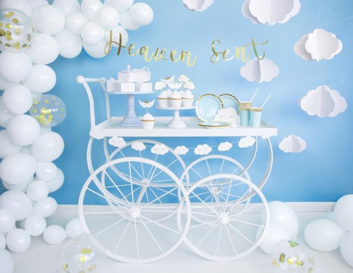 Banner Heaven Sent din carton oglinda 3