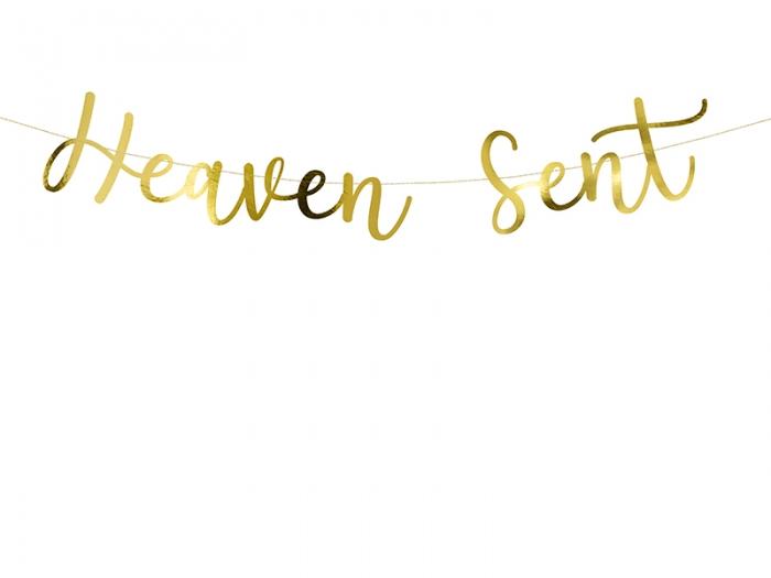 Banner Heaven Sent din carton oglinda 6