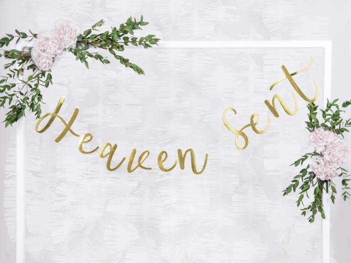 Banner Heaven Sent din carton oglinda 1