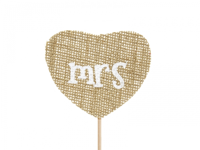 Cake Toppers Mr Mrs, 18.5cm [3]