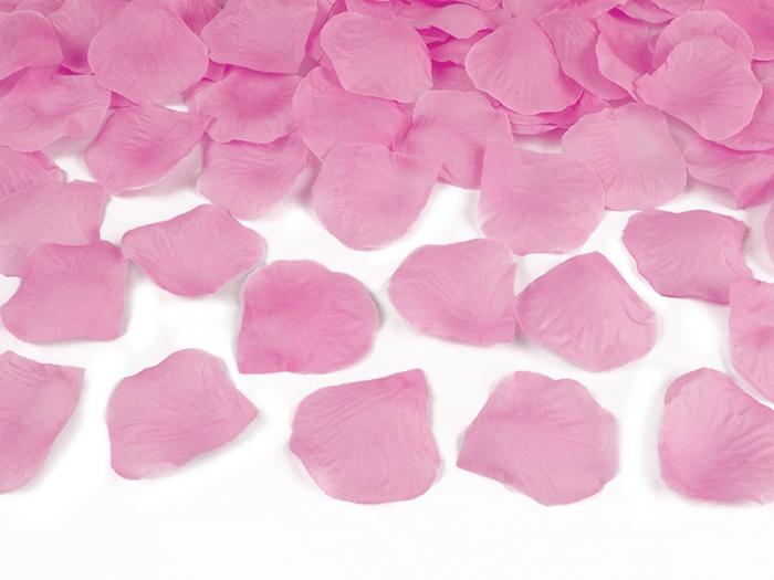 Confetti cannon petale de trandafiri, roz, 40cm 2
