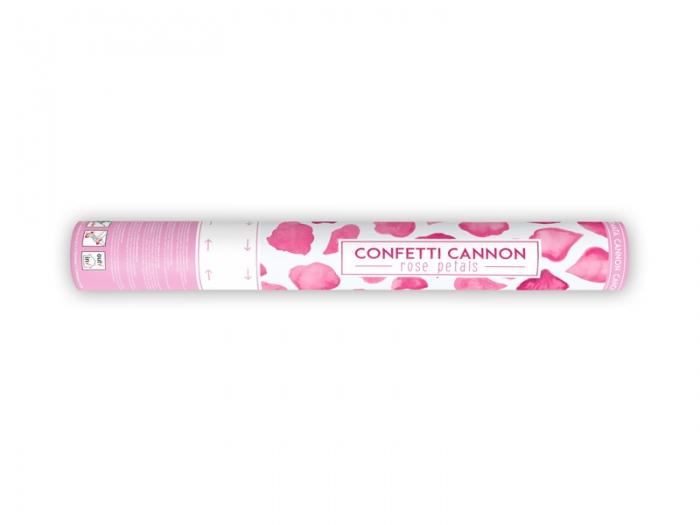 Confetti cannon petale de trandafiri, roz, 40cm 3
