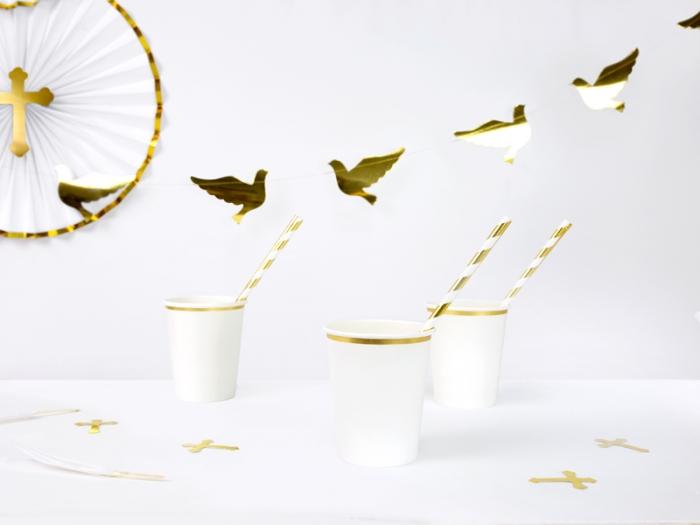 Ghirlanda porumbei carton auriu [0]